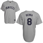 Yogi Berra Jersey - NY Yankees 1927 Cooperstown Replica Throwback Jersey