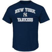 "Yankees ""Heart and Soul"" Navy Youth T-shirt"