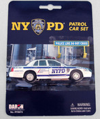 NYPD Patrol Car Set