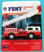 FDNY Ladder Truck Playset
