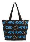 Robin-Ruth NY Brown Smal Butterfly Tote Bag