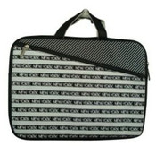 Robin-Ruth NY Black Stripe Laptop Bag