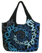 Robin-Ruth NY Blue Large Spiral Bag