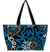 Robin-Ruth NY Blue Spiral Bag