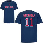Clay Buchholz T-Shirt - Navy Boston Red Sox Adult T-Shirt