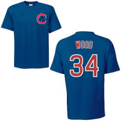 Kerry Wood T-Shirt - Navy Chicago Cubs Adult T-Shirt
