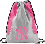NY Yankees Hot Pink Axis Backsack