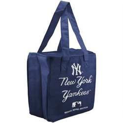 yankees cooler tote bag