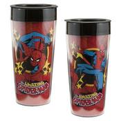Marvel Comics 16 oz Plastic Travel Mug