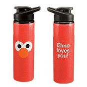Sesame Street Elmo 24 oz Stainless Steel Water Bottle