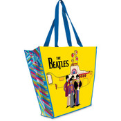 "The Beatles ""Yellow Submarine"" Large Recycled Shopper Tote"