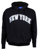 New York Black Hooded Sweatshirt