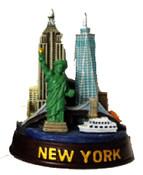 NYC Landmarks 4 Inch Color Skyline Model
