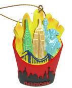 NYC Icons in French Fries Ornament