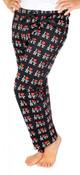 I Love NY Black Allover Print Pajama - front