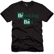 Breaking Bad Logo Adult T-Shirt