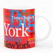 "NYC ""Hotspots"" Red 11 oz. Mug"