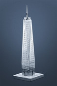 One World Trade Center 3D Laser Cut Model