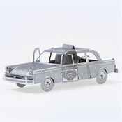 Checker Cab 3D Laser Cut Model