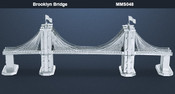 Brooklyn Bridge 3D Laser Cut Model