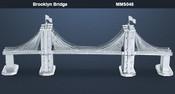 Brooklyn Bridge 3D Laser Cut Model