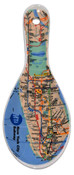 MTA Subway Map Ceramic Spoon Rest