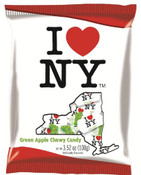 I Love NY Green Apple Chewy Candy