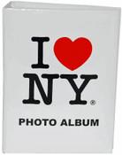I Love NY White Photo Album