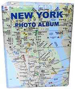 MTA Subway Map Small Photo Album