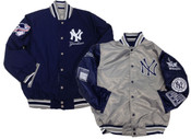 "NY Yankees ""The Pitchers Duel"" Reversible Jacket"