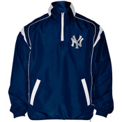 "Yankees ""Clean Up Hitter"" Half Zip Pullover Jacket"