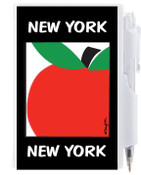 NYC Big Apple Flip Style Notepad