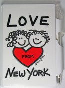 Love from NY Flip Style Notepad