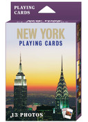NY Icons Postcard 13 Images Playing Cards