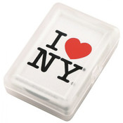I Love NY White Playing Cards
