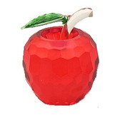 NYC Red Crystal Apple - 2.5 Inch
