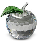 NYC Clear Crystal Apple - 1.5 Inch