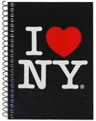 I Love NY Black Notebook