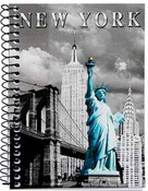 NY Icons Photo Notebook