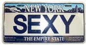Sexy NY License Plate