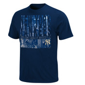 "Yankees ""Chance of Winning"" Navy Mens T-shirt"