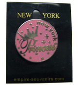 NY Princess Circle Pin