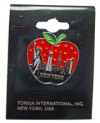 Big Apple Skyline Pin