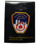 Official FDNY Shield Pin