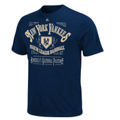 "Yankees Cooperstown ""Dazzling Performance"" Navy Mens T-shirt"