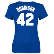 Jackie Robinson Ladies Tee - Back
