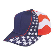 American Flag Hat - Starts and Stripes