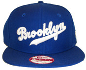 Brooklyn Dodgers 9Fifty Adult Snapback Hat - front view