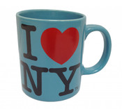 I Love NY Teal 11oz. Mug