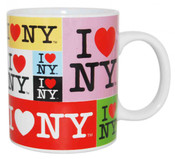I Love NY Collage 11oz. Mug